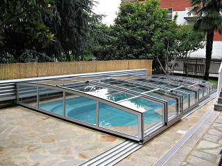 Zakryté posuvné zastřešení bazénu CORONA™