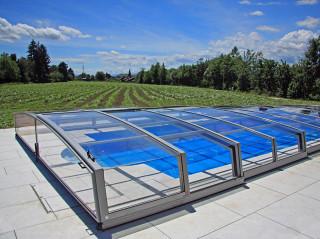 Kryt na bazén CORONA™ s bočním vstupem