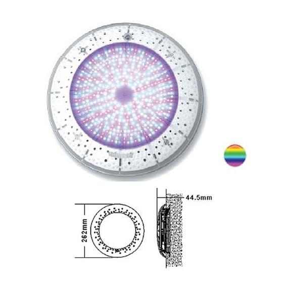 Bazénové světlo PROXIMA LED 441 ploché multicolor