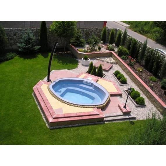 Relaxační bazén 2,95 x 2,35 x 0,90
