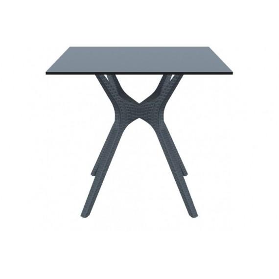 SIESTA EXCLUSIVE, Stůl IBIZA 80 šedý