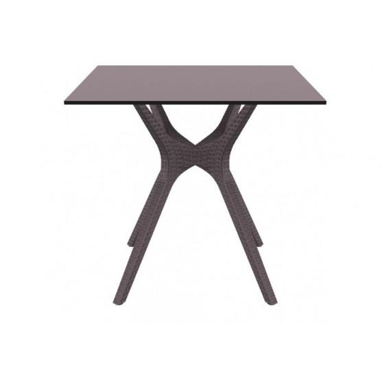 SIESTA EXCLUSIVE, Stůl IBIZA 80 hnědý