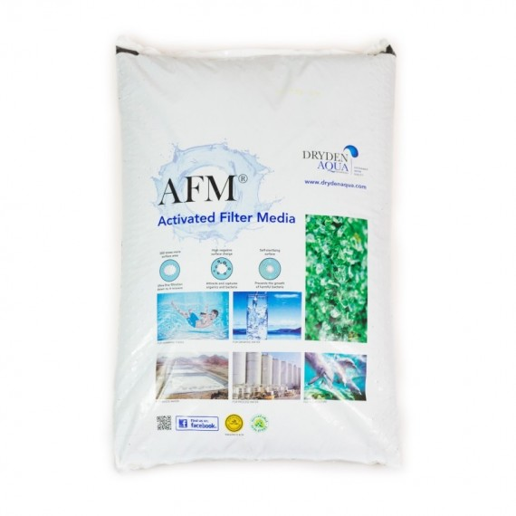Aktivované filtrační medium AFM® Grade 1 / 0,4 – 1,0 mm / 21 kg