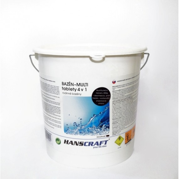 MULTI tablety 4v1 - 2,4 kg