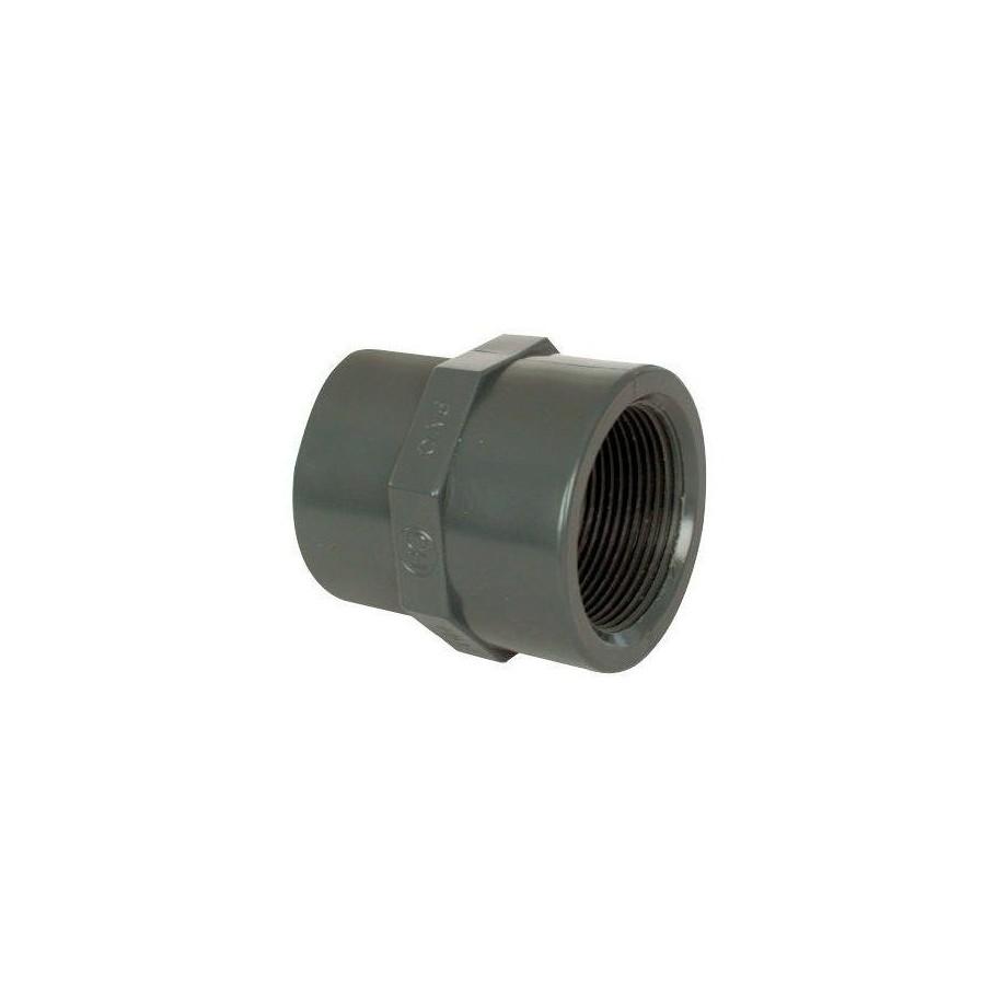 """PVC tvarovka - Mufna přechod. red. 75--63 x 2 3/4"""" int."""