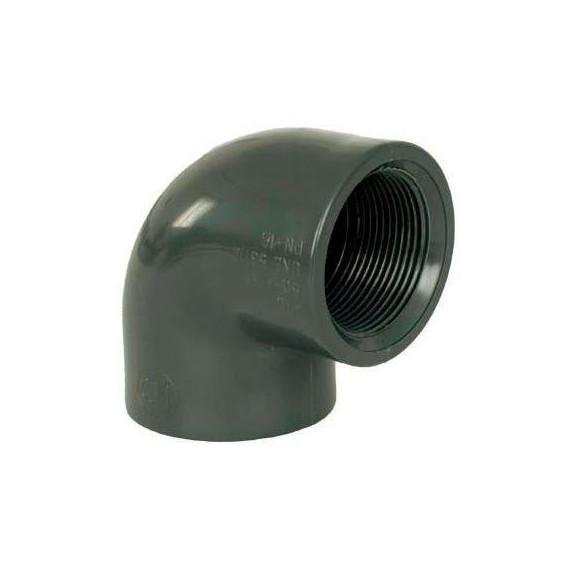 """PVC tvarovka - Úhel 90° 1 1/2"""" (vnitřní rozměr) x 1 1/2"""" (vnitřní rozměr)"""