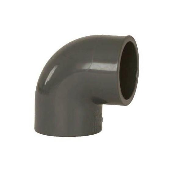 PVC tvarovka - Úhel 90° 40 mm