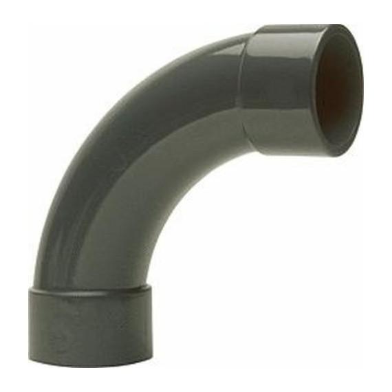 PVC tvarovka - Oblouk 90° 90 mm