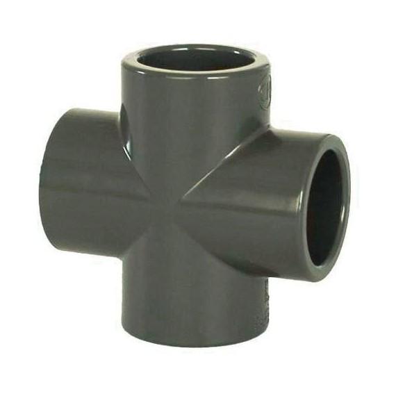 PVC tvarovka - Kříž 63 mm