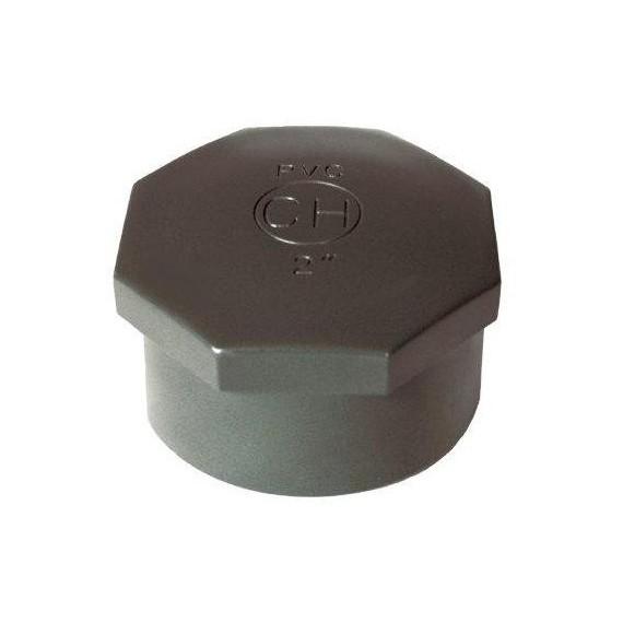 """PVC tvarovka - Zátka 3"""" (vnitřní rozměr)"""