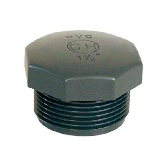 """PVC tvarovka - Zátka 1"""" (vnější rozměr)"""