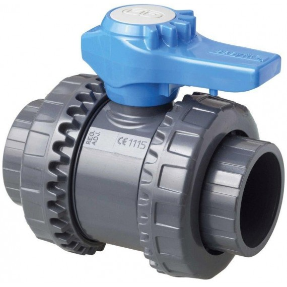 Kulový dvoucestný ventil 32 mm -- Easyfit