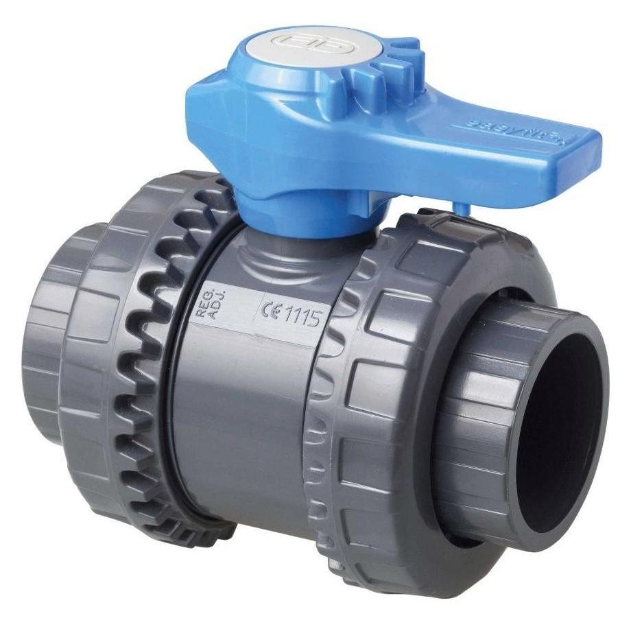 Kulový dvoucestný ventil 50 mm -- Easyfit