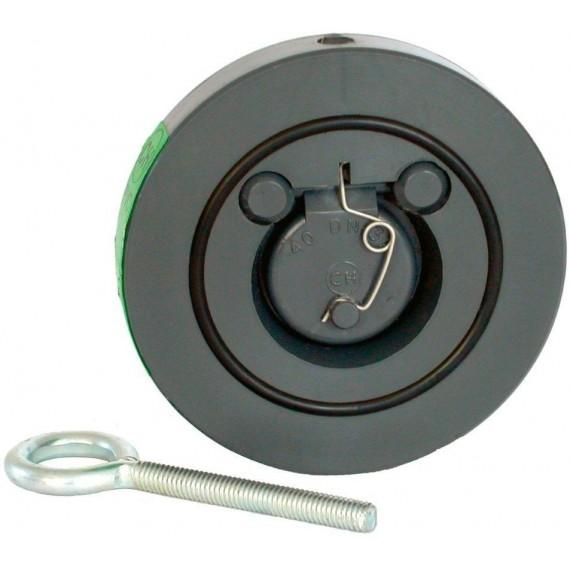 Zpětná klapka s pružinou 160 mm