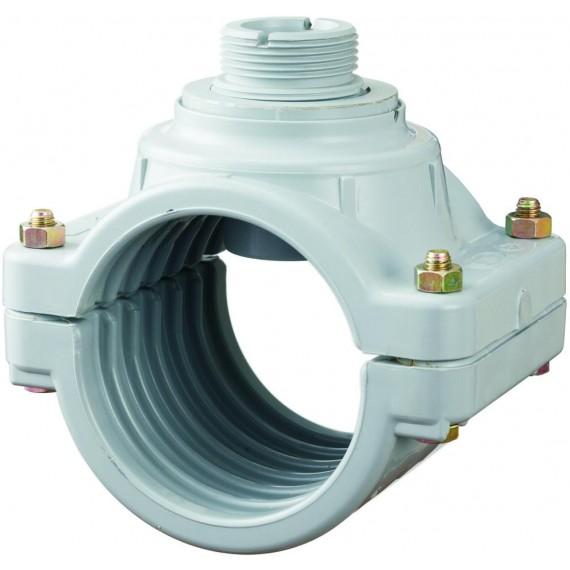 Měření průtoku - Sedlo navrtávací 110 mm pro senzor průtoku