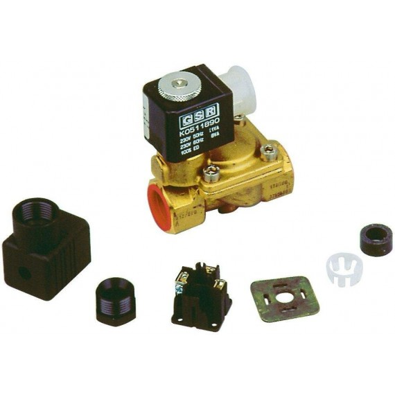 Elektronické hlídání hladiny - Elektromagnetický ventil 1/2 palce