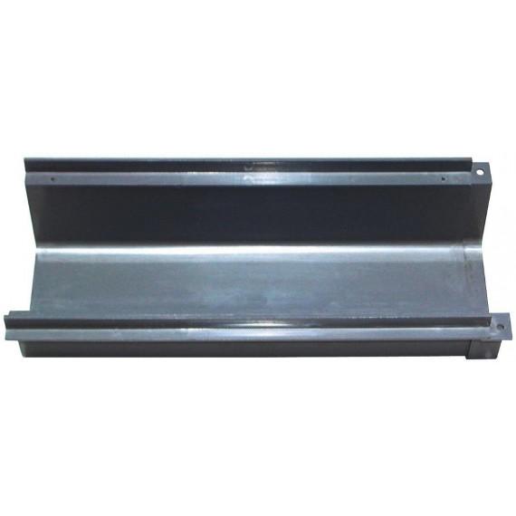 Přelivový žlábek PVC, š 238 mm x d 520 mm x v 130 mm