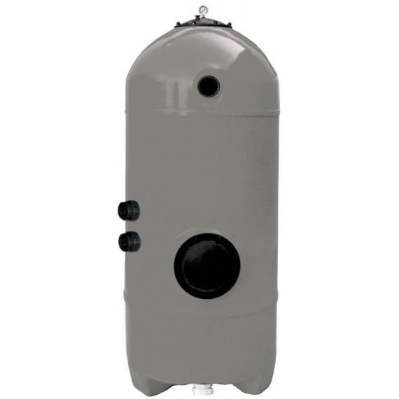 Filtrační nádoba San Sebastians tryskovým dnem - 900mm, hl. lože 1,2m, bez 6ti cestného ventilu