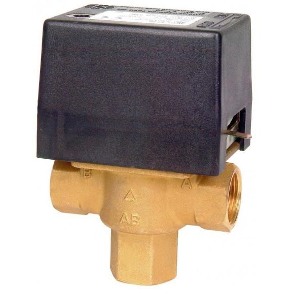 """Elektrický trojcestný ventil Připojení 3/4"""" in 230 V"""