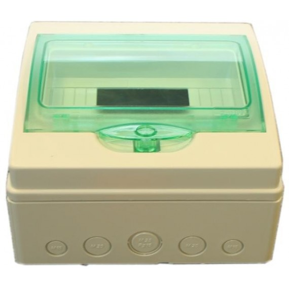 Rozvaděč 8-modulový (plastový)