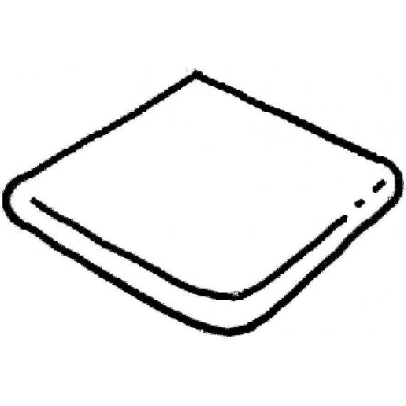 Dlažba Ardoise vybíhající díl, (vnější rozměr) , 1 kus