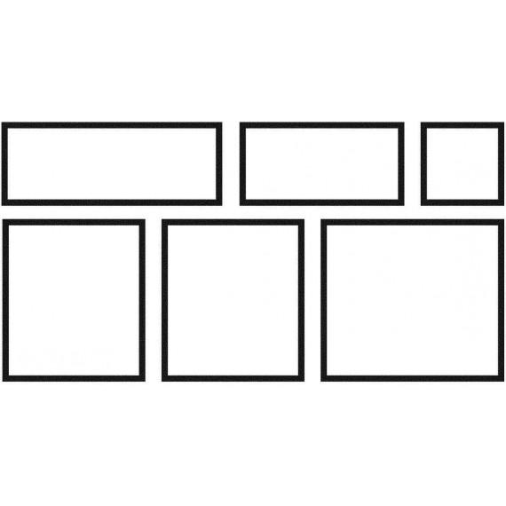 Dlažba Memphis 6 kusů 1 modul (0,90 m2) x tl 27 mm