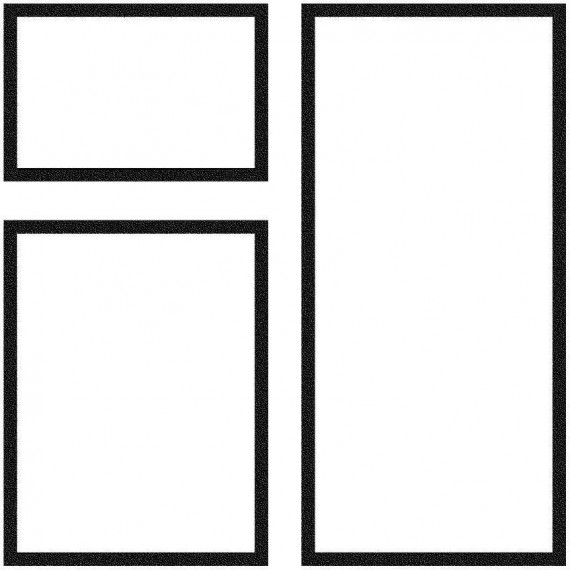 Dlažba Trianon – kombinovaná dlažba tl. 35 mm