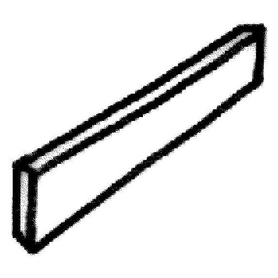 Dekorace - soklový obrubník 500 x 100 x tl. 10 mm