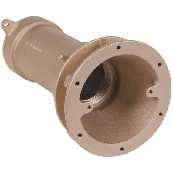 """Sání hydromasáže, hloubka 240 mm, napojení 2 1/2"""" in."""