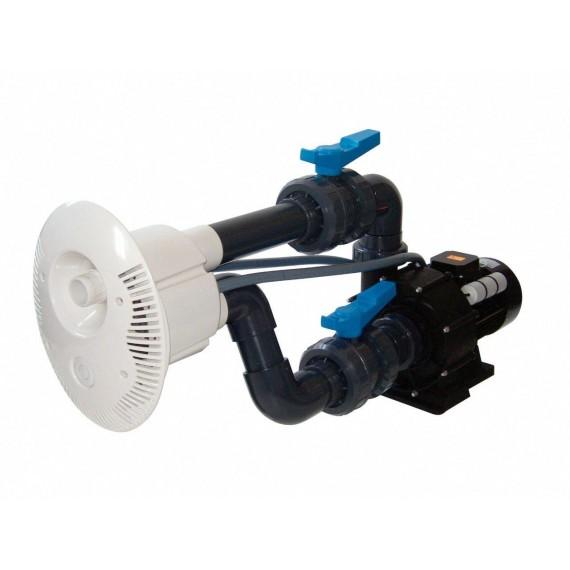 Protiproud V-JET 66 m3/h, 400 V, 2,2 kW, pro fóliové a předvyrobené baz. potrubí průměr  63 mm