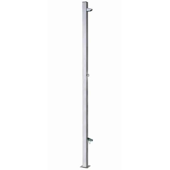 Bazénová sprcha Tetra automat s omýváním nohou, materiál nerez AISI 304