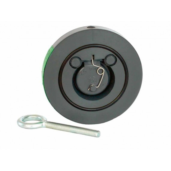 Zpětná klapka s pružinou 50 mm