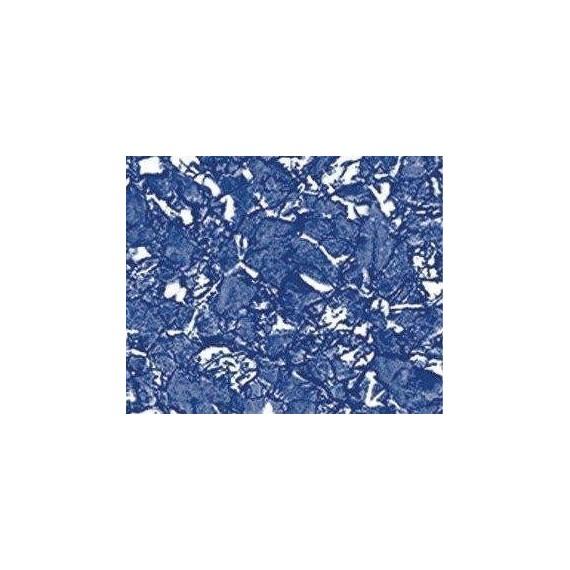 Fólie pro vyvařování bazénů - AVfol Decor - Blue Marmor; 1,65m šíře, 1,5mm, metráž
