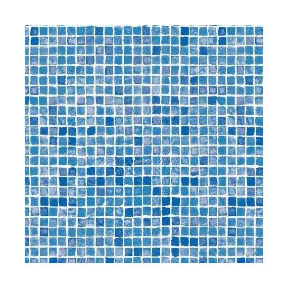 Fólie pro vyvařování bazénů - AVfol Decor - Mozaika Azur; 1,65m šíře, 1,5mm, metráž