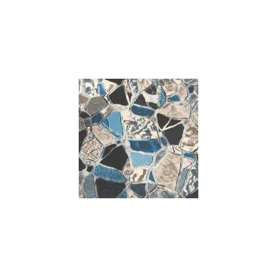 Fólie pro vyvařování bazénů - AVfol Decor - Volcano Stones; 1,65m šíře, 1,5mm, metráž