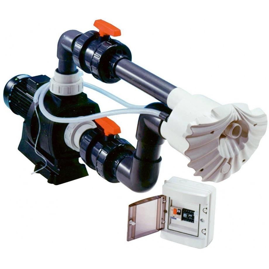 Protiproud K-JET Sena -- NEWBCC 66 m3/h, 230V, pro fólii a předvyrobené baz.