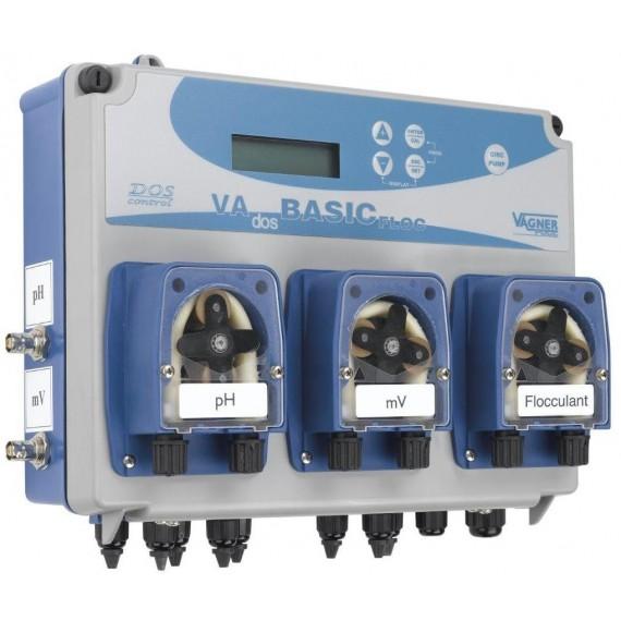 VA DOS BASIC FLOC pH/ORP/Flokulant + sonda pH/ORP