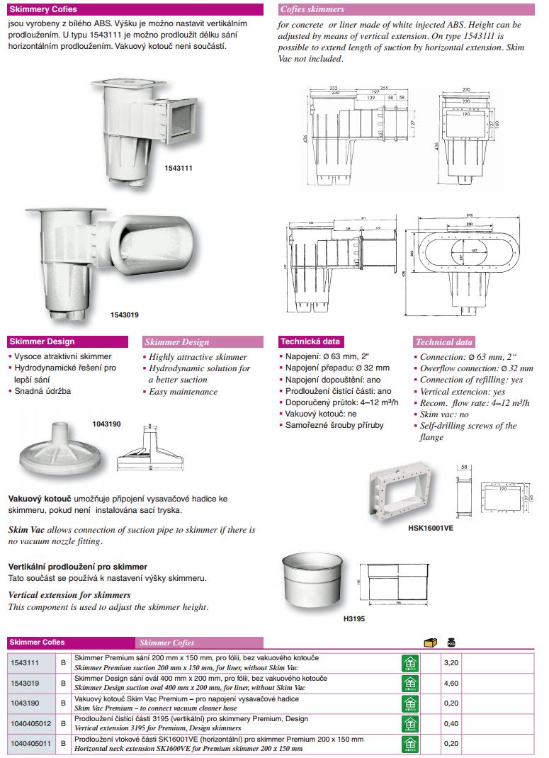 Skimmer Cofies Design