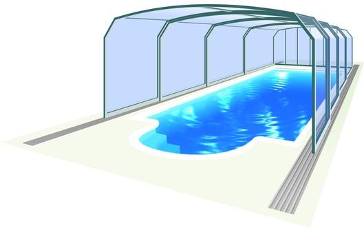 Bazénové zastřešení Oceanic High