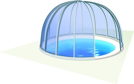 Bazénové zastřešení Orient