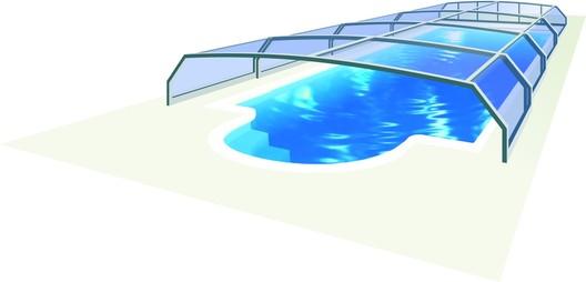 Bazénové zastřešení Riviera