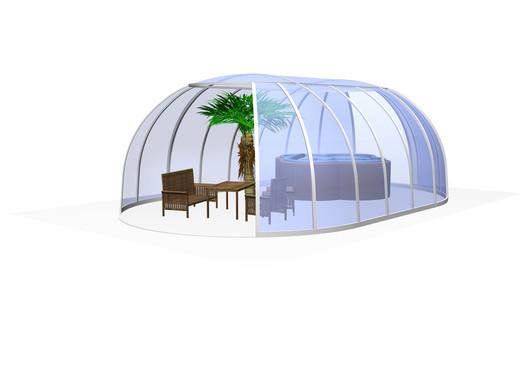 Zastřešení vířivek SPA Sunhouse