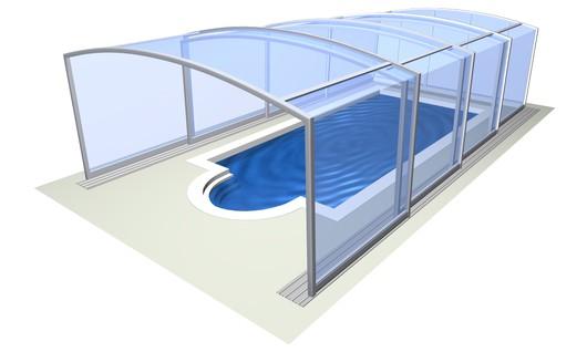 Bazénové zastřešení Vision